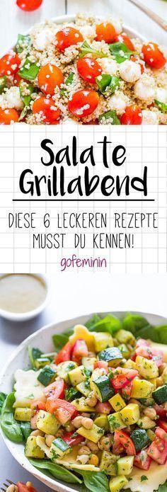 Kreativ und schnell gemacht: 6 leckere Salate für den nächsten Grillabend