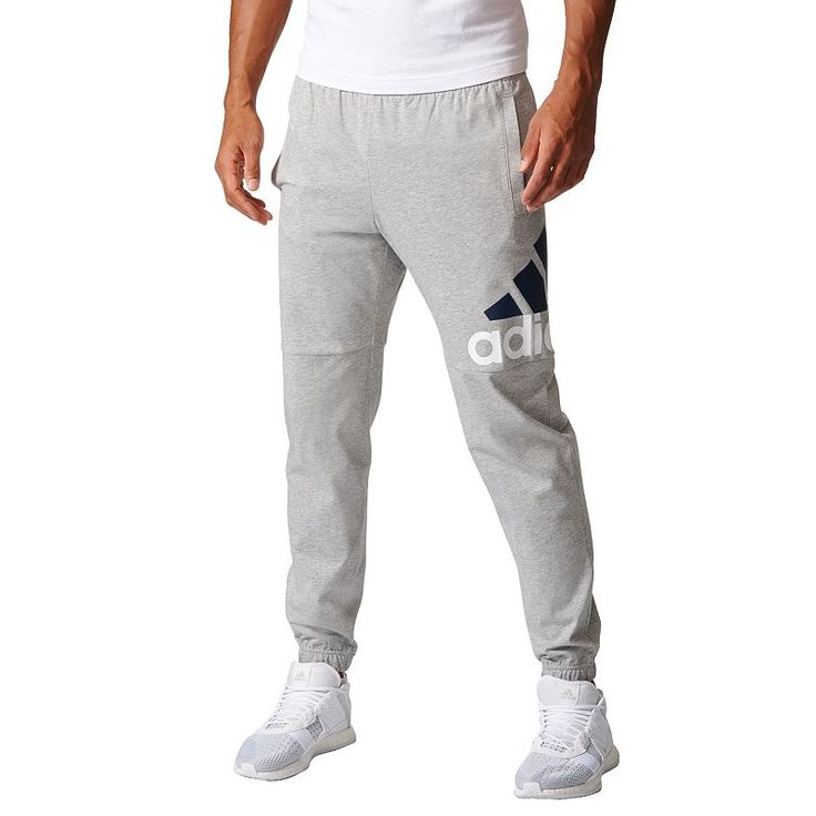 Men's adidas Essential Logo Jersey Pants in 2021 | Mens jogger ...