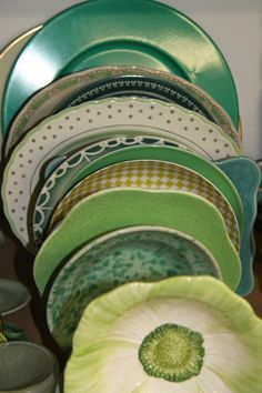 Green dish collection!