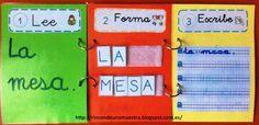 Rincón de una maestra: Lee, forma y escribe