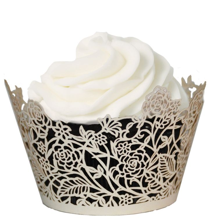 24 best cupcake liners and wrappers images on Pinterest Cupcake