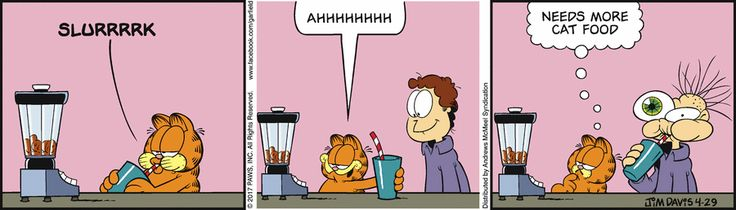 Garfield by Jim Davis for Apr 29, 2017   Read Comic Strips at GoComics.com