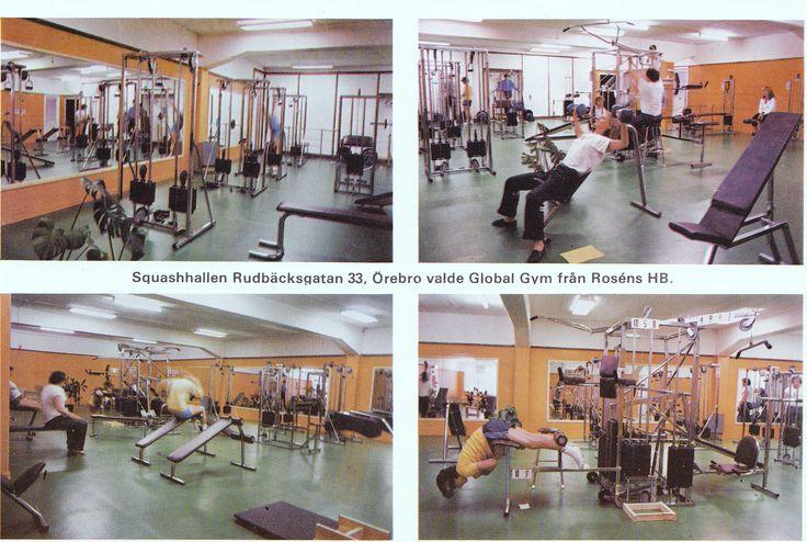 Sweden Örebro -  Squashhallen i Örebro 1982