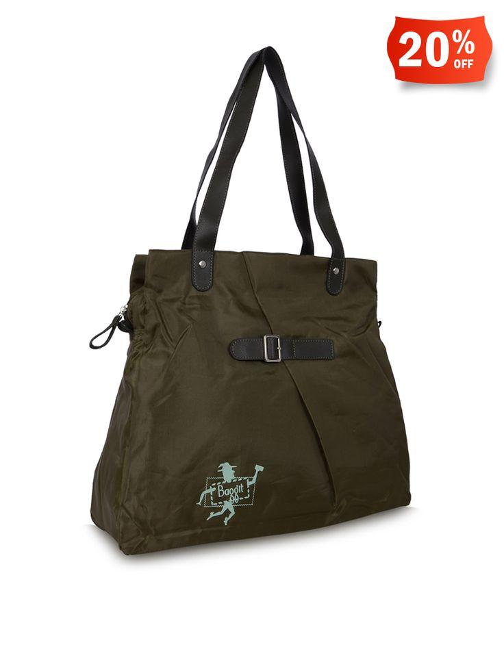 Baggit: Bloom Koku Green - Rs. 1,325/- Discount price: Rs. 1,060/- Buy Now at: http://goo.gl/J7n9R4