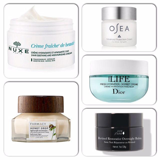 My Top 5 Natural & Organic Hydrating Moisturizers! #hydrating #beauty #dehydratedskin #skincare #naturalbeauty #organic