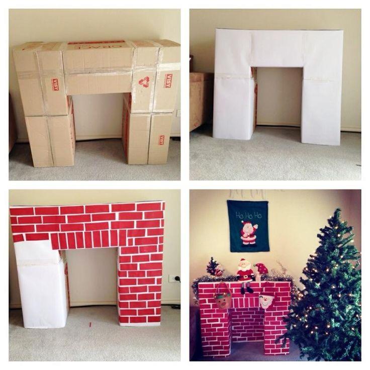 Une lobby magique pour le Père Noël! Et une astuce pour le rendre fonctionnel! 10 PHOTOS À VOIR!