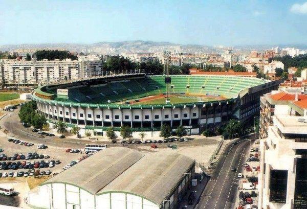 Old José Alvalade Stadium.