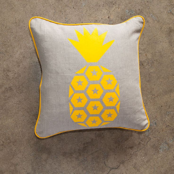 Inspiration: E\u0026W Pineapple print cushion | Beginners Screen Printing Ideas | Pinterest | Designer cushions Pillows and Cushion pillow & Inspiration: E\u0026W Pineapple print cushion | Beginners Screen ... pillowsntoast.com