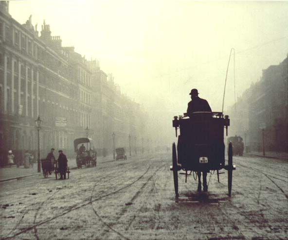 Alvin Langdon Coburn, Portland Place, London, 1906