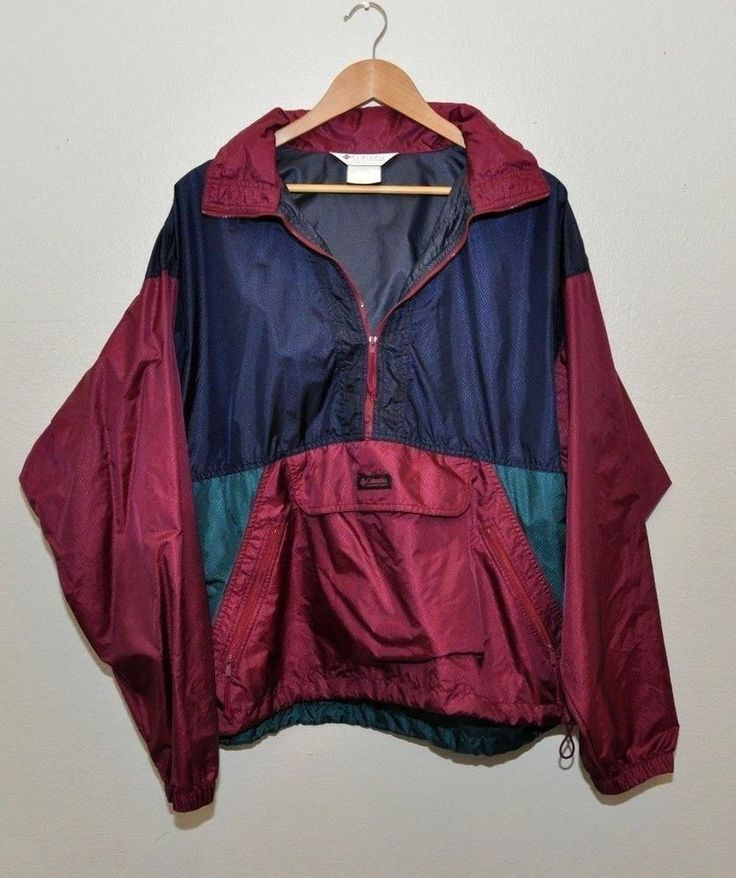 """This Windbreaker L Pocket Pullover Jacket is a classic because and has been in the classic style for teens and young adults. """"Outer wear:"""""""