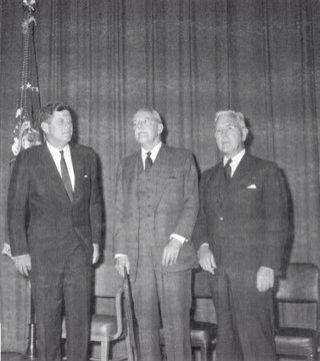 1961. 27 Septembre. Jfk, Allan Dulles et John McCone