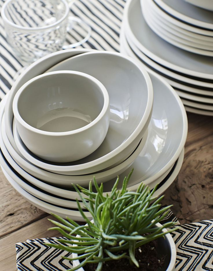 Spruce up your crockery with these simplistic designs from Sainsbury's.