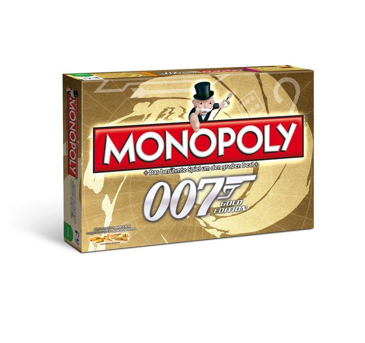 Monopoly James Bond 007 - James Bond Monopoly – Dr. No und Goldfinger statt Schlossallee und Hauptbahnhof. Monopoly zählt zu den beliebtesten Brettspielen. In der James Bond 007 Gold Edition vereint das populärste Spiel der Welt die Geschichten um den bekanntesten Geheimagent der Welt.