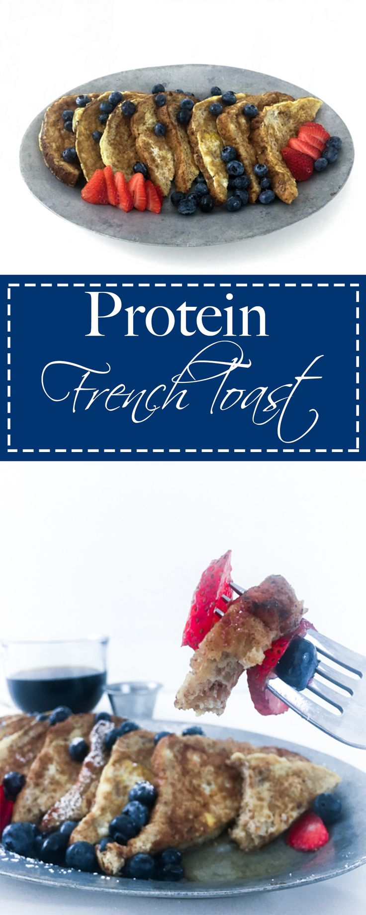 Don't miss out on this updated classic. French toast that is full of protein and all the good things for you!