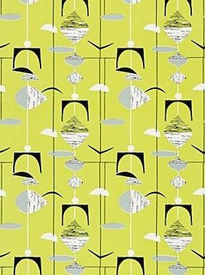 Sanderson mobiles wallpaper 210216 citrus black for Opus wallpaper range