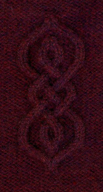 Shoulder and Sleeve Motif by lv2knit, via Flickr