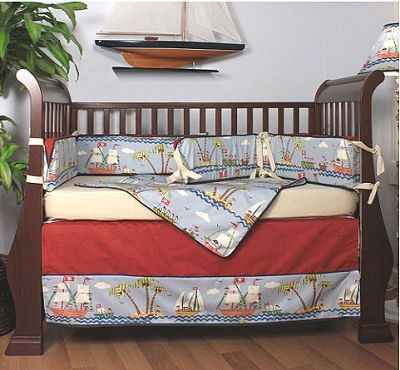 Pirate-Themed Nursery | ... ! We Have Baby Pirate Bedding Sets for the Crib in Your Nursery Room