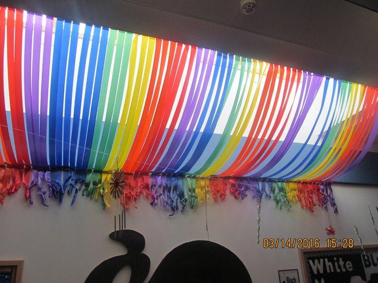 Best 25 nursery display boards ideas on pinterest early for Rainbow themed baby nursery