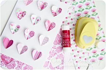 Alla hjärtans dag kort -Valentine's Day card | Craft & Creativity – Pyssel & DIY