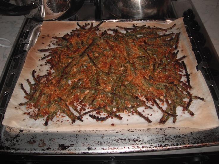 fagiolini croccanti al forno