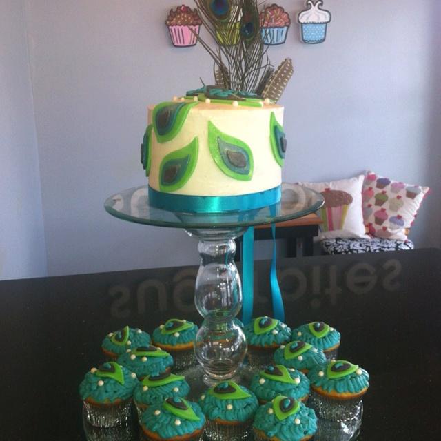 Peacock birthday creation