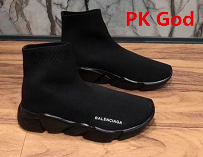 hot sale online 83bde fdf03 Balenciaga Speed Trainer Runner Socks sneakers PK God Paris black cheapest  legit check review on feet 2018