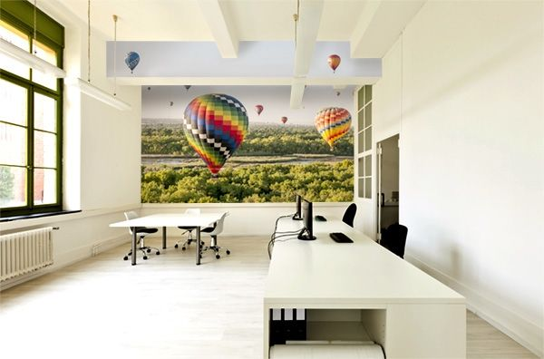 17 best images about office wall murals on pinterest for Corporate mural