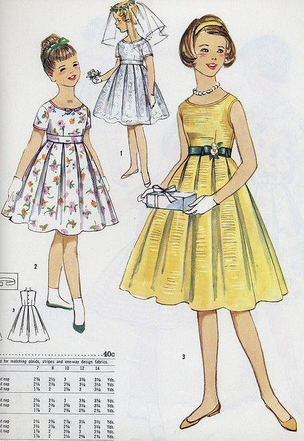 girl fancy dress by Millie Motts, via Flickr