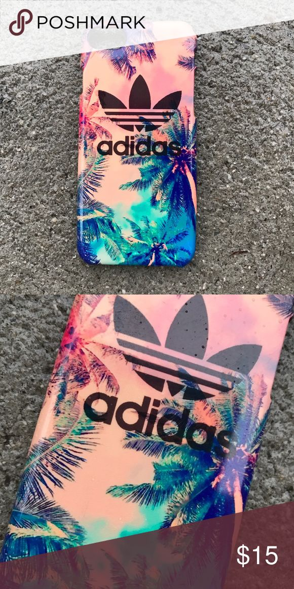 Adidas Palm Trees Case for any iPhone!! Brand New in the packaging ! High Quality dope printed iPhone case !3D printed design all around the case.   Price is firm unless looking for bundle deals. Then message me!   Same or next day shipping with USPS Tracking provided!   ***Message me or comment before purchase of the phone size you have, or else I will send the size in the title***  ALL CASES AVAILABLE FOR IPHONE 6/6S , 6 Plus / 6S Plus, iPhone 7, and iPhone 7 Plus!   Much more dope designs…
