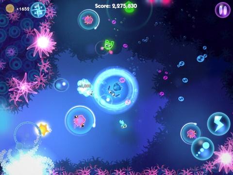 Very popular HD app, Glowfish HD.