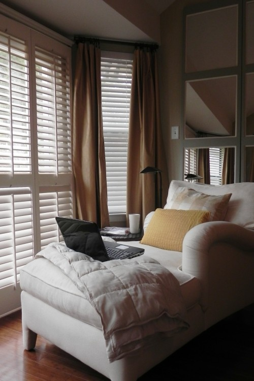 Chaise Perfect Reading Area Home Goals Pinterest Peaceful Bedroom Master Bedroom And