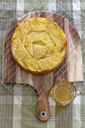 Donna Hay's Upside Down Pineapple Cake - By Alycia Rowe