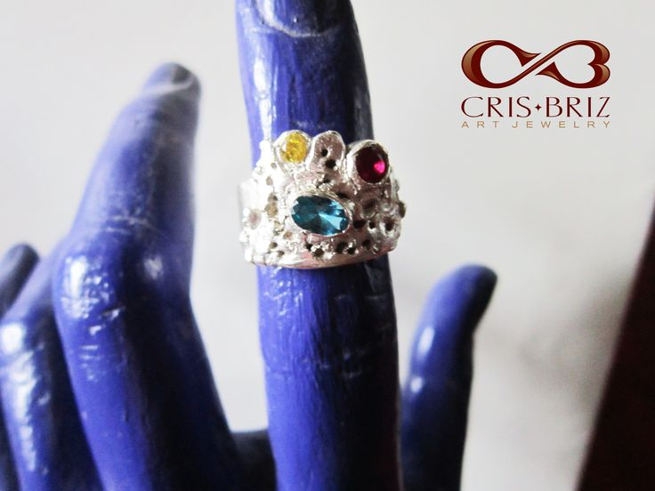 Erosion ring, silver 99,9%