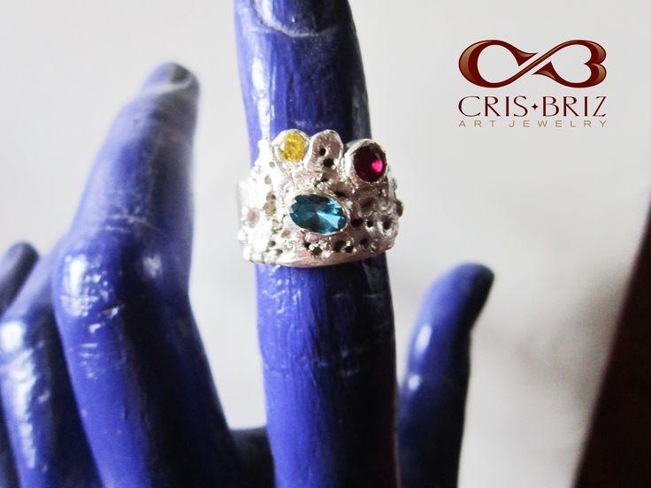 Erosion ring, silver 99,9%