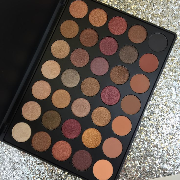 how to pack morphe eyeshadows