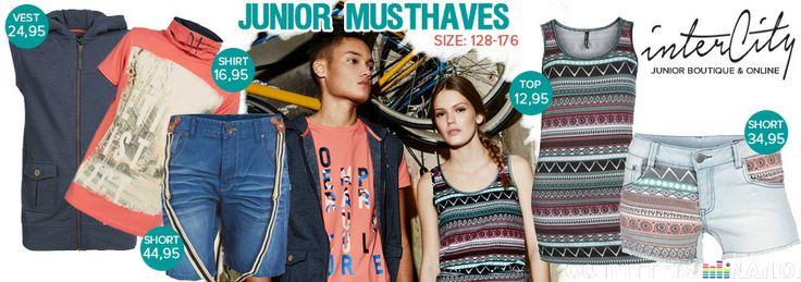 Junior Musthaves vanaf €12,95!