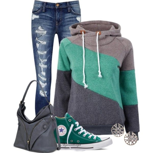 CONVERSE by arjanadesign on Polyvore featuring мода, Current/Elliott, Converse, Dasein, BKE, women's clothing, women's fashion, women, female and woman