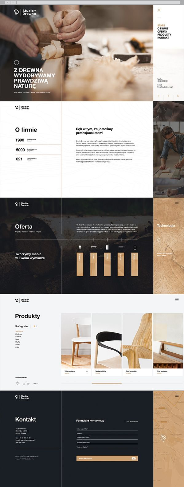 Studio Drewna on Behance