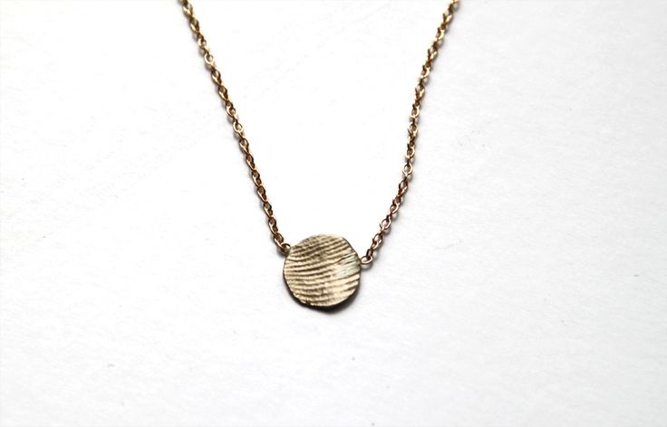 Gemma's thumbprint in gold...the PERFECT mother's day gift....hint hint Raj ;-P