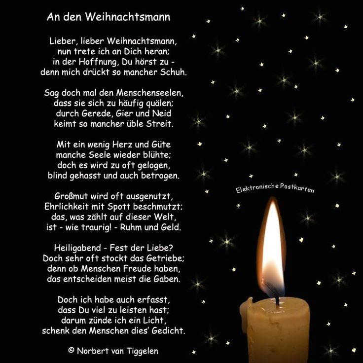 Weihnachten, Advent, Van Tiggelen, Gedichte, Menschen, Leben, Weisheit, Welt, Er… – Norbert1964