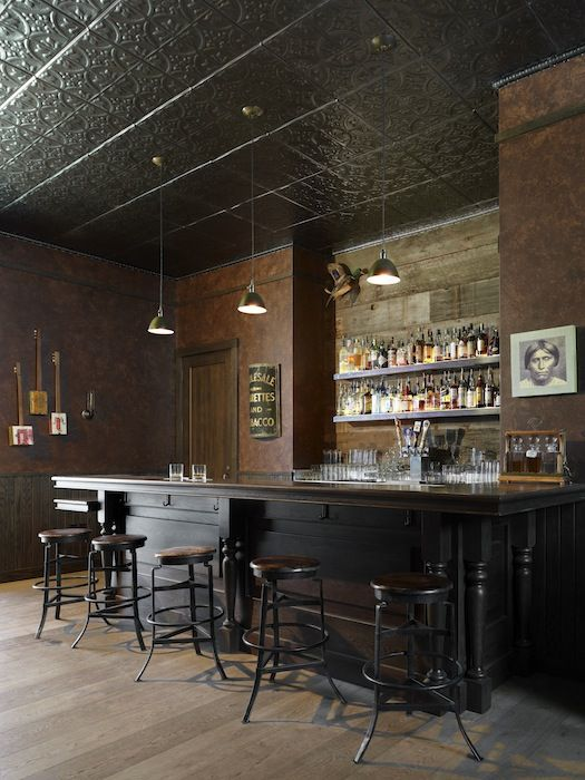 Bar in the back of the Medlock Ames tasting room. LOVE.