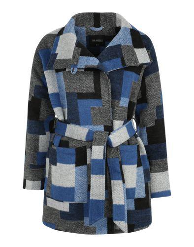 Die klassisch geschnittene Jacke ´Lady´s Jacket´ von Top Secret zitiert mit ihrem wolligen Karo-Look die traditionellen Holzfällerhemden. Der breite Gürtel betont die Taille. Kombiniere Sie lässig mit Denim und derben Boot im Wildleder-Style