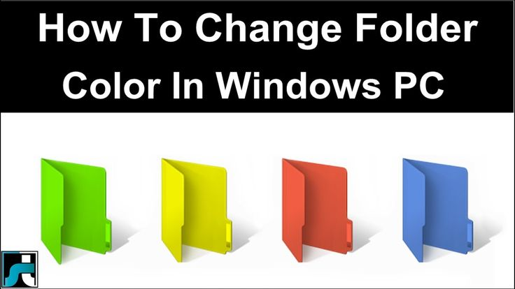 How To Change Folder Color In Windows 7 8 10 - 2017