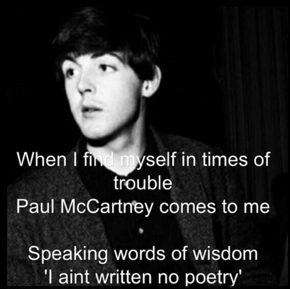 lol paul mccartney