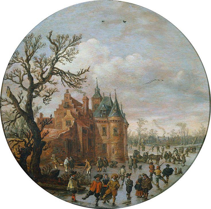 Jan van Goyen - Allegorie op de winter