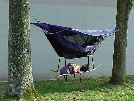 Camping hammocks   Hammock Tent - GadgetGrid