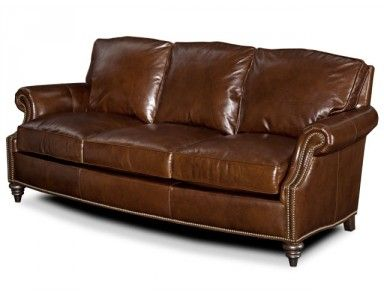 Brandington Young Xander Leather Sofa. Custom Made In The USA! : Leather  Furniture Expo