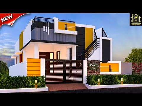 30 Beautiful Small House Front Elevation Design 💖 Ground ...
