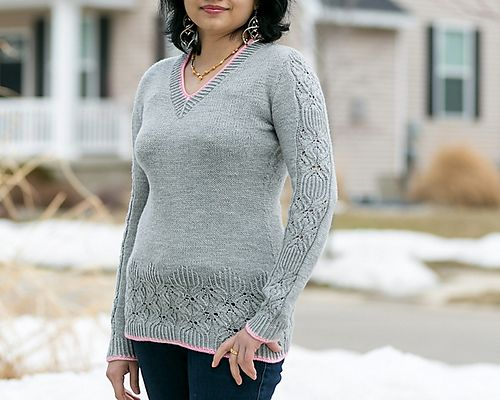 Ravelry: Mesmeric pullover pattern by Deepika