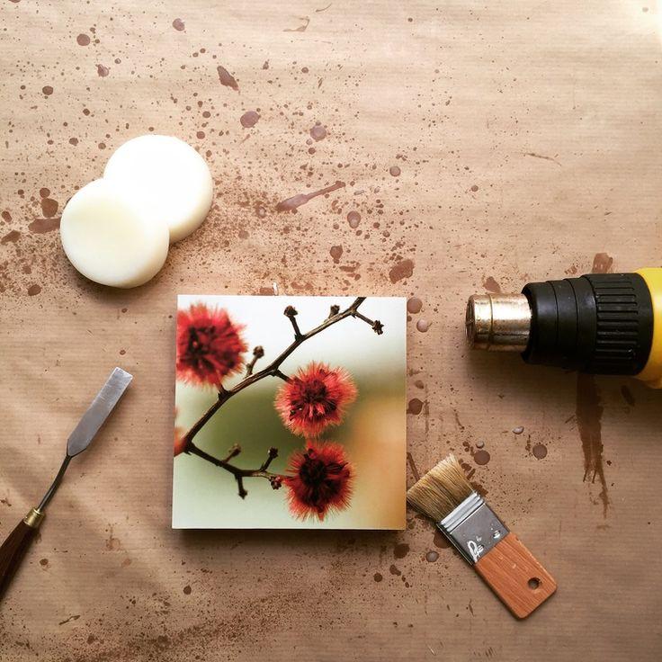 Foto-Enkaustik: Wie ich dazu kam — SUSIGRAFIE